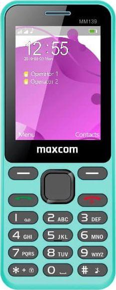 Telefon komorkowy Maxcom TELEFON KOMORKOWY MAXCOM MM139 NIEBIESKI standard 6613203 Mobilais Telefons