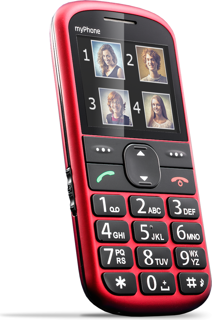 Telefon komorkowy myPhone Halo 2 Czerwony HALO 2 CZERWONY Mobilais Telefons