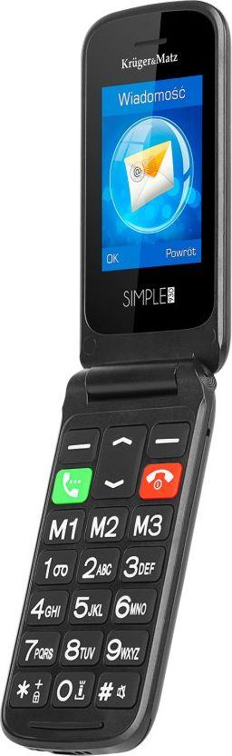 Telefon komorkowy Kruger&Matz Telefon GSM dla Seniora Kruger&Matz Simple 930 KM0930 Mobilais Telefons