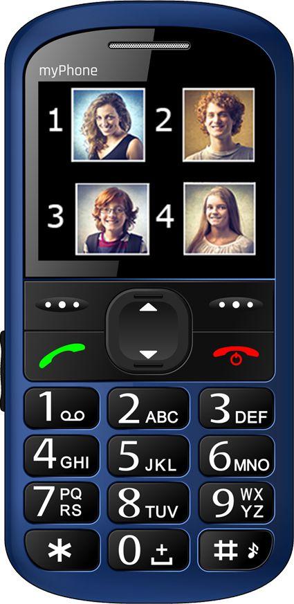 Telefon komorkowy myPhone Halo 2 Niebieski T_0014076 Mobilais Telefons