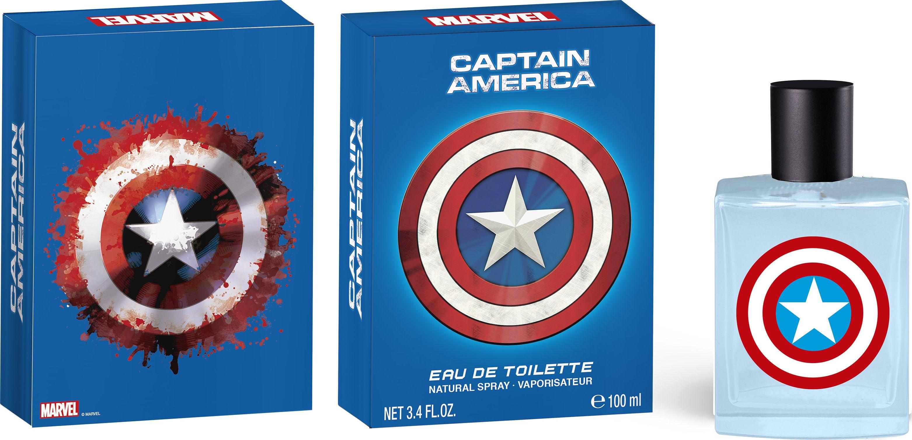 Marvel Tualetinis vanduo Marvel Captain America EDT berniukams 100 ml 6750393 Bērnu smaržas