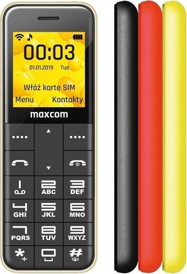 Telefon komorkowy Maxcom MM111 + trzy obudowy maxcom_20200420084728 Mobilais Telefons