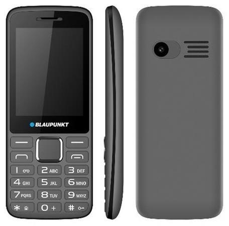 Blaupunkt FM 03 Dual iron gray ENG 5999887068706 BPFM03WEEIG Mobilais Telefons