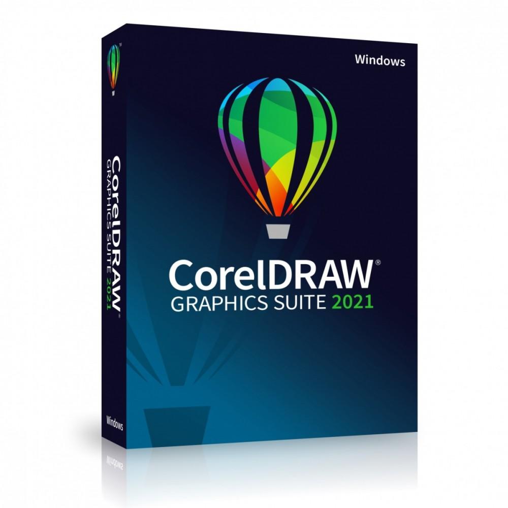 CorelDRAW Graphics Suite 2021 CZ/PL BOX
