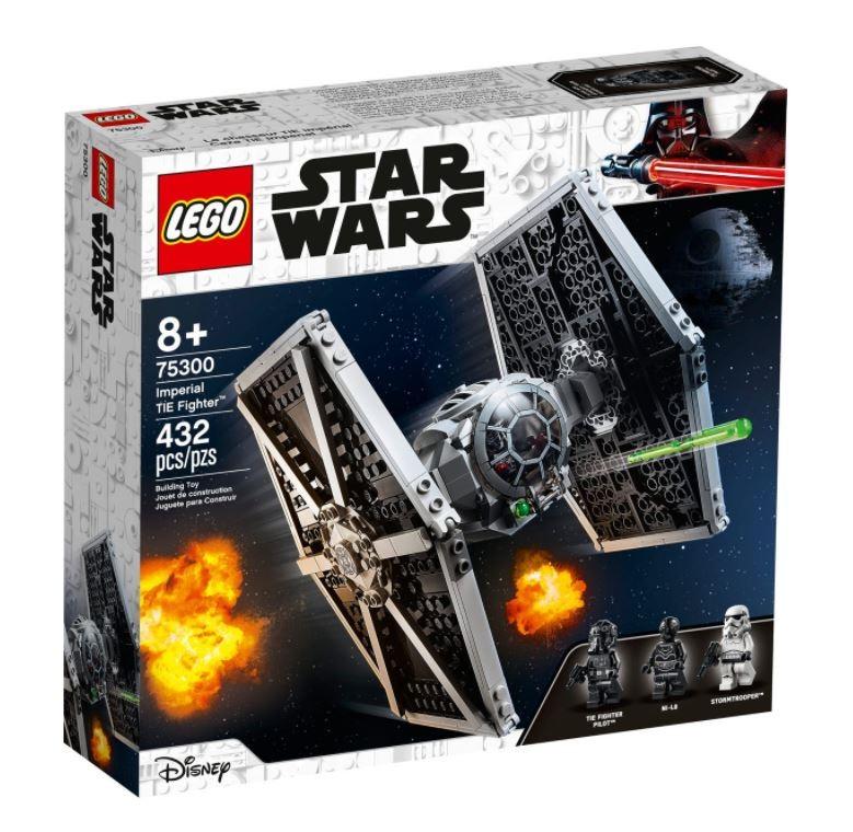 LEGO Star Wars 75300 Imperial TIE Fighter LEGO konstruktors