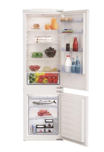 Beko BCNA275K3SN fridge-freezer Freestanding White A+ Iebūvējamais ledusskapis