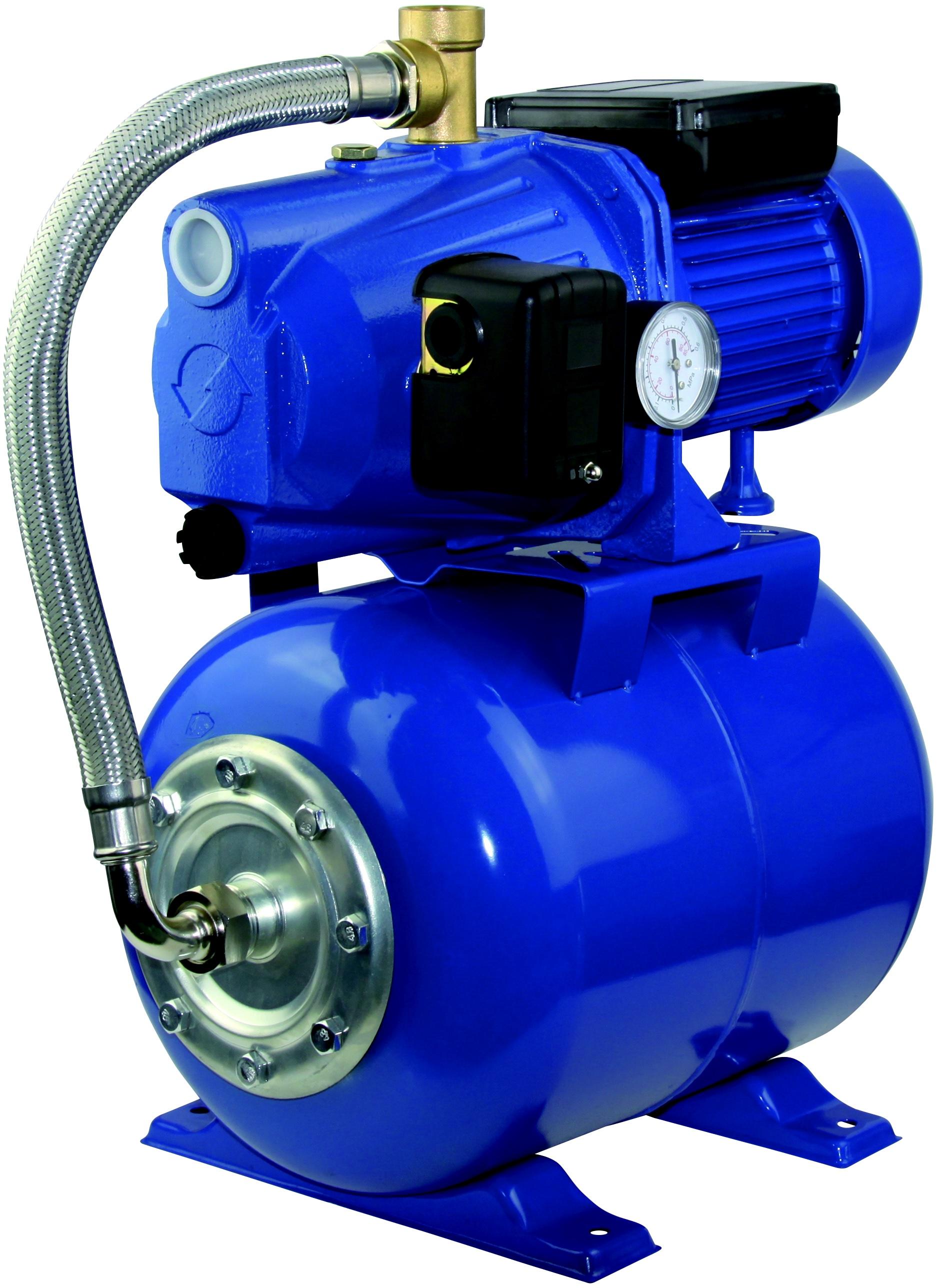 Suknis ar spiedkatlu AUTJET-100-L, 1000W Dārza laistīšanas iekārtas