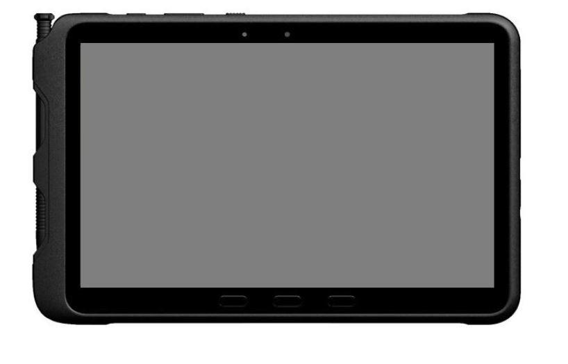 Smartphone Galaxy Tab Active PRO 10,1 LTE 4/64GB Enterprise Edition black, successor of the model SM-T545NZKAXEO# SM-T545NZKAE33# Mobilais Telefons