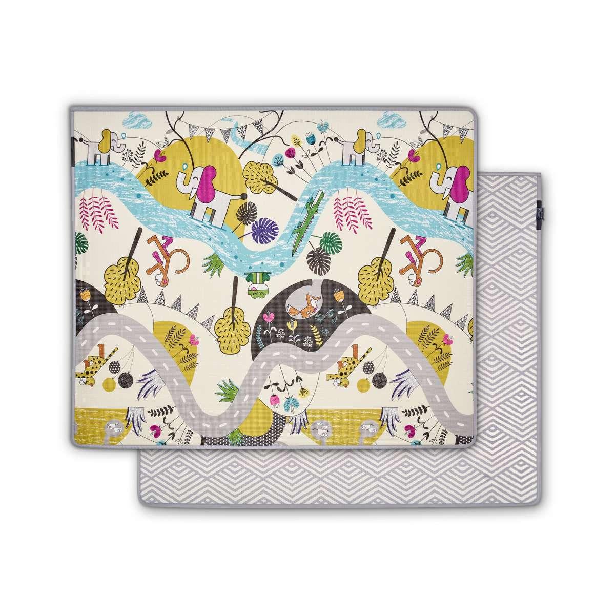 Kinderkraft Tpu Matty Art.KKMMATT0000000  Divpusējs spēļu paklājs