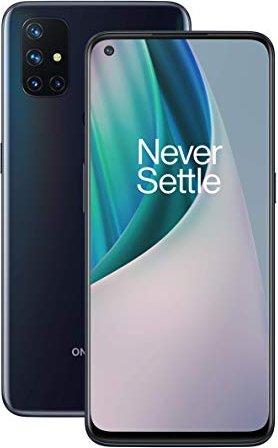 "OnePlus Nord N10 5G 16.5 cm (6.49"") Oxygen OS USB Type-C 6 GB 128 GB 4300 mAh Blue Mobilais Telefons"