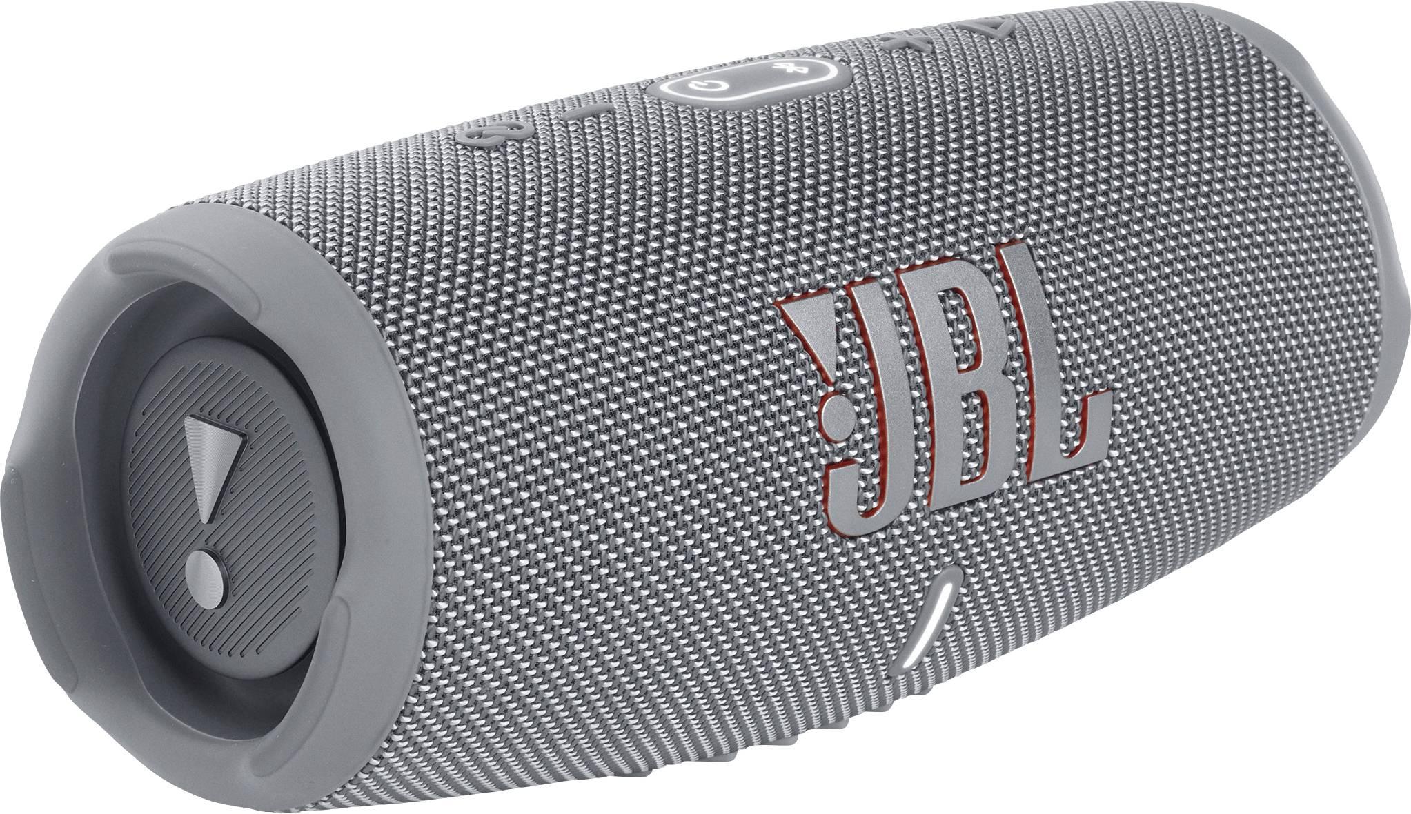 JBL Charge 5 Grey Portable Bluetooth v5.1, IP67, 7500mAh, up to 20 hours pārnēsājamais skaļrunis
