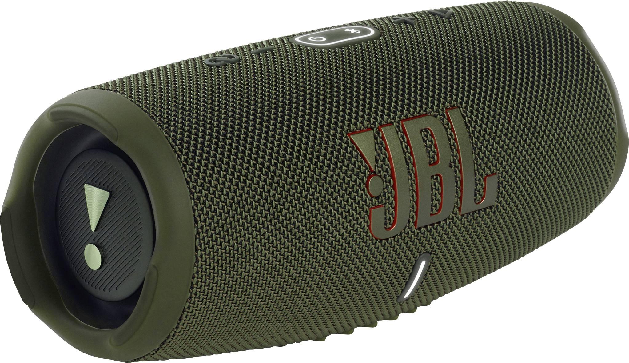 JBL Charge 5 Green Portable Bluetooth v5.1, IP67, 7500mAh, up to 20 hours pārnēsājamais skaļrunis