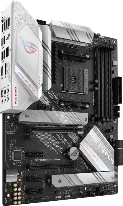 ASUS ROG STRIX B550-A GAMING (AMD,AM4,DDR4,ATX) pamatplate, mātesplate
