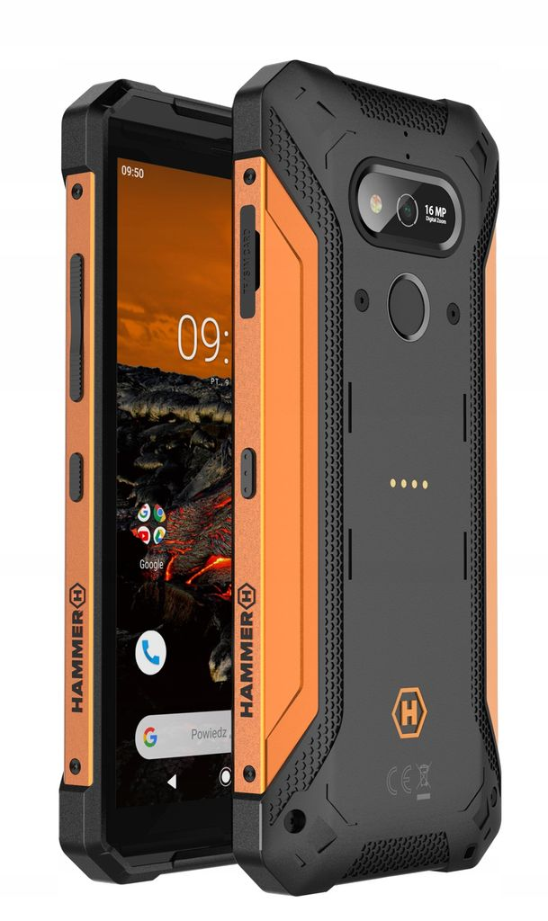 MyPhone Hammer Explorer Pro Dual orange 5902983609377 T-MLX45189 Mobilais Telefons