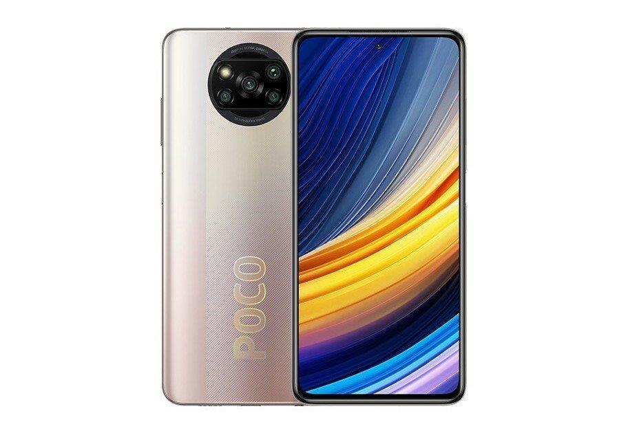 Xiaomi Poco X3 Pro 6GB/128GB Metal Bronze Mobilais Telefons