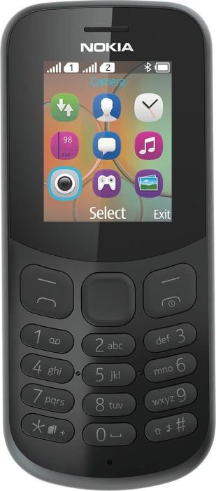 Nokia 130 2017 black Mobilais Telefons