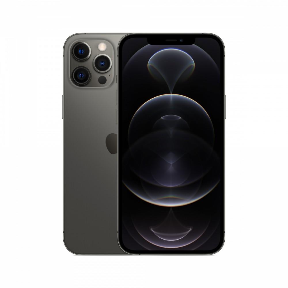 "Apple iPhone 12 Pro Max 17 cm (6.7"") Dual SIM iOS 14 5G 256 GB Graphite Mobilais Telefons"