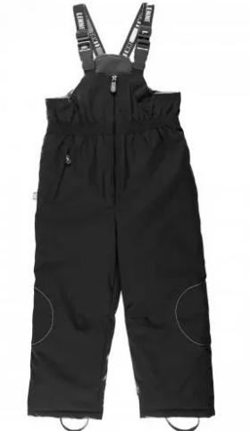 Lenne '17 Harriet Art.16353/042 Black Bērnu ziemas termo bikses ar paaugstinātu vidukli (86cm) krāsa: 042