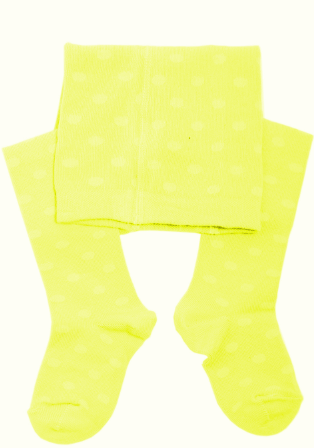 Weri Spezials K21 Bērnu zeķubikses (Anti Allerģiskas) (56-160 izm.) dots yellow