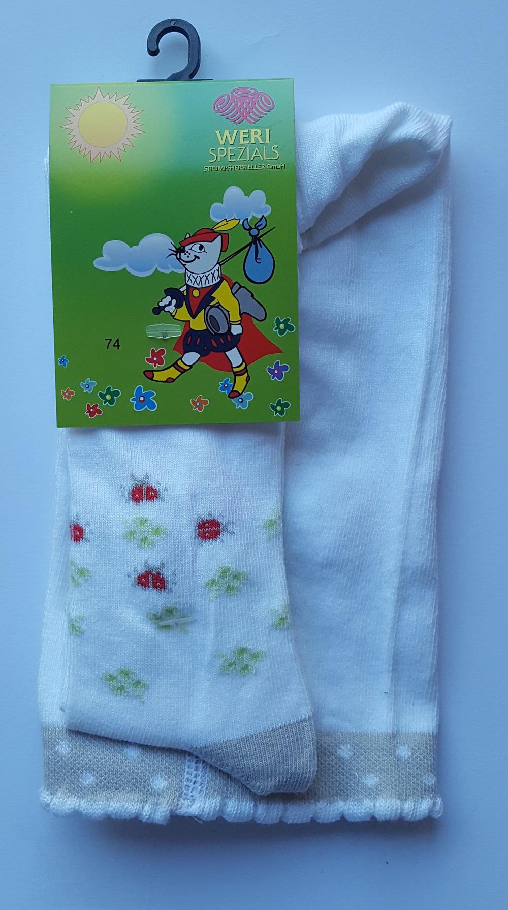 Weri Spezials 13541 Bērnu zeķubikses (Anti Allerģiskas) 56-160 izm.