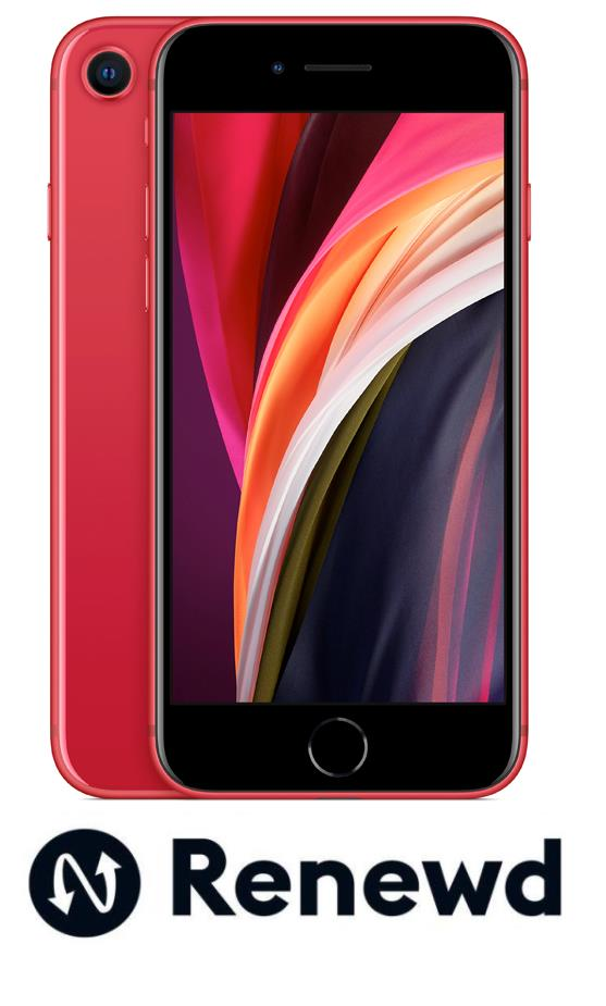 MOBILE PHONE IPHONE SE 2020/RED RND-P17664 APPLE RENEWD RND-P17664 Mobilais Telefons