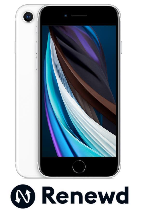 MOBILE PHONE IPHONE SE 2020/WHITE RND-P17264 APPLE RENEWD RND-P17264 Mobilais Telefons