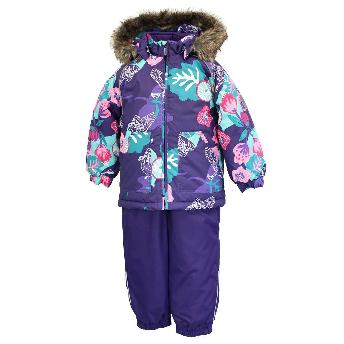 Huppa'21 Avery Art.41780030-94073 Silts mazuļu ziemas termo kostīms jaka + bikses