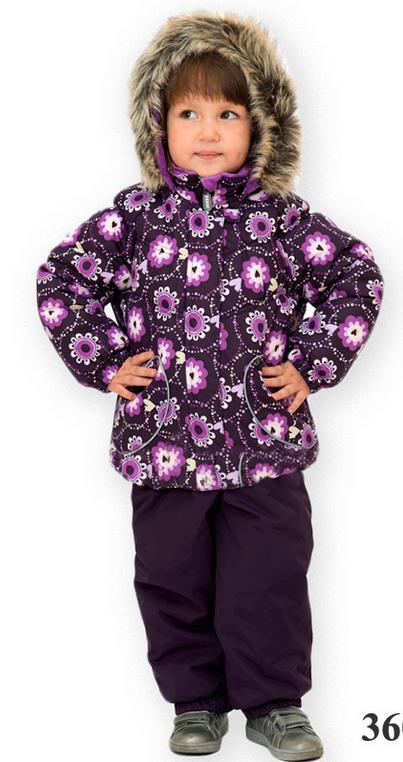 Lenne '17 Liisa Art.16313/3600 Silts mazuļu ziemas termo kostīms jaka + bikses (74 сm) krāsa: 2600