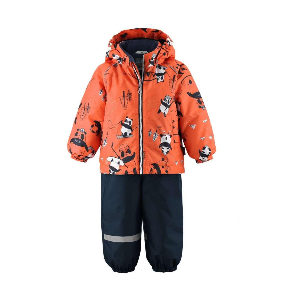 Lassie'21 Lassietec® Oivi Art.713732-2733 Orange Silts mazuļu ziemas kostīms: jaka un bikses