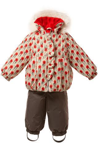 Lenne '16 Elisa 15313/1010 Silts mazuļu ziemas termo kostīms jaka + bikses (74cm)