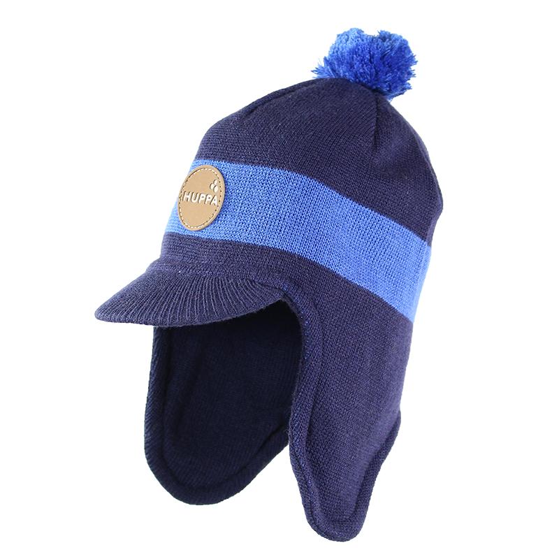 Huppa '17 Peak  Art.80340000-60086 Mazuļu adīta ziemas cepure ar kokvilnas oderi (izm.S-L)