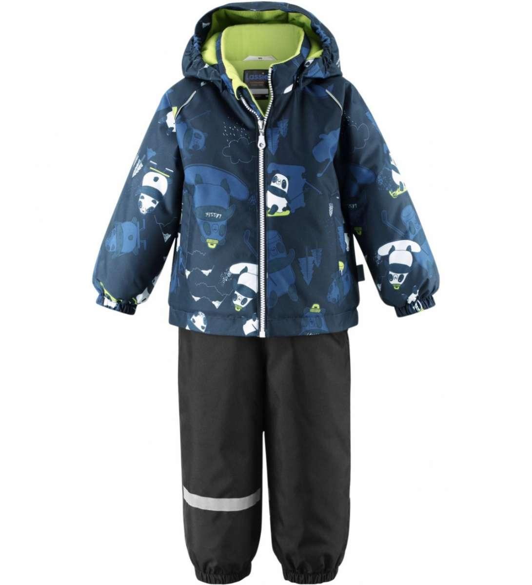Lassie'21 Lassietec® Oivi Art.713732-6963 Dark Blue Silts mazuļu ziemas kostīms: jaka un bikses
