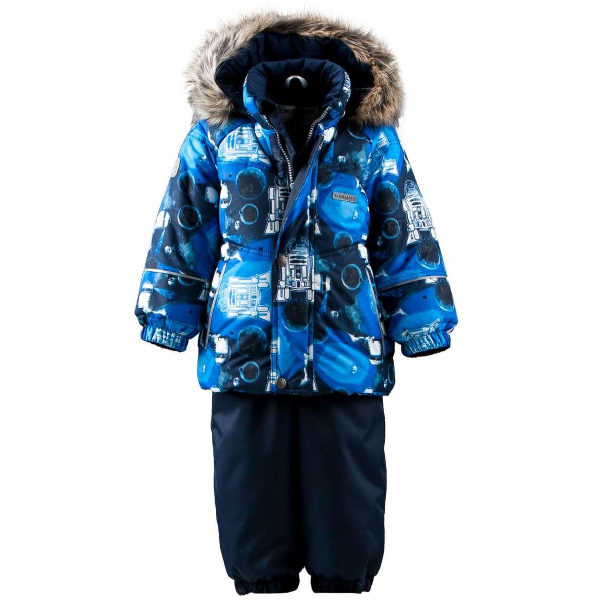 Lenne '18 Robert Art.17314/2290 Silts mazuļu ziemas termo kostīms jaka + bikses (74-98 cm)