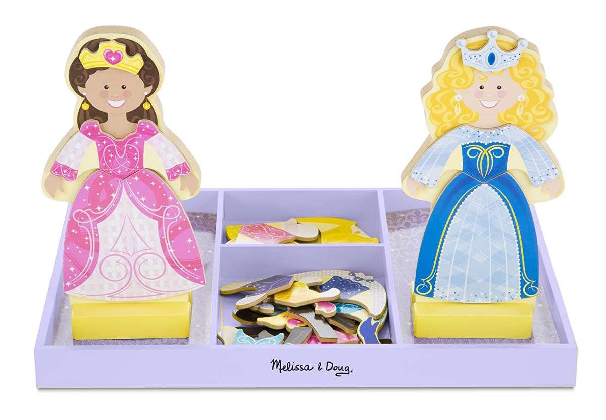 Melissa&Doug Magnetic Dress Up Princess Art.40321 Magnētisko apģerbu komplekts Saģērb mani