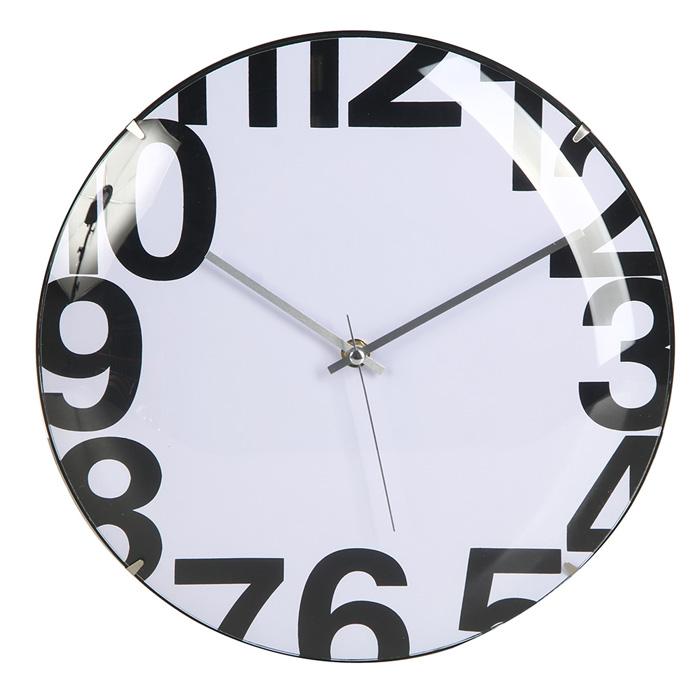 Pulkstenis sienas 4Living Pill 30cm balts 330878-2 Sienas pulkstenis