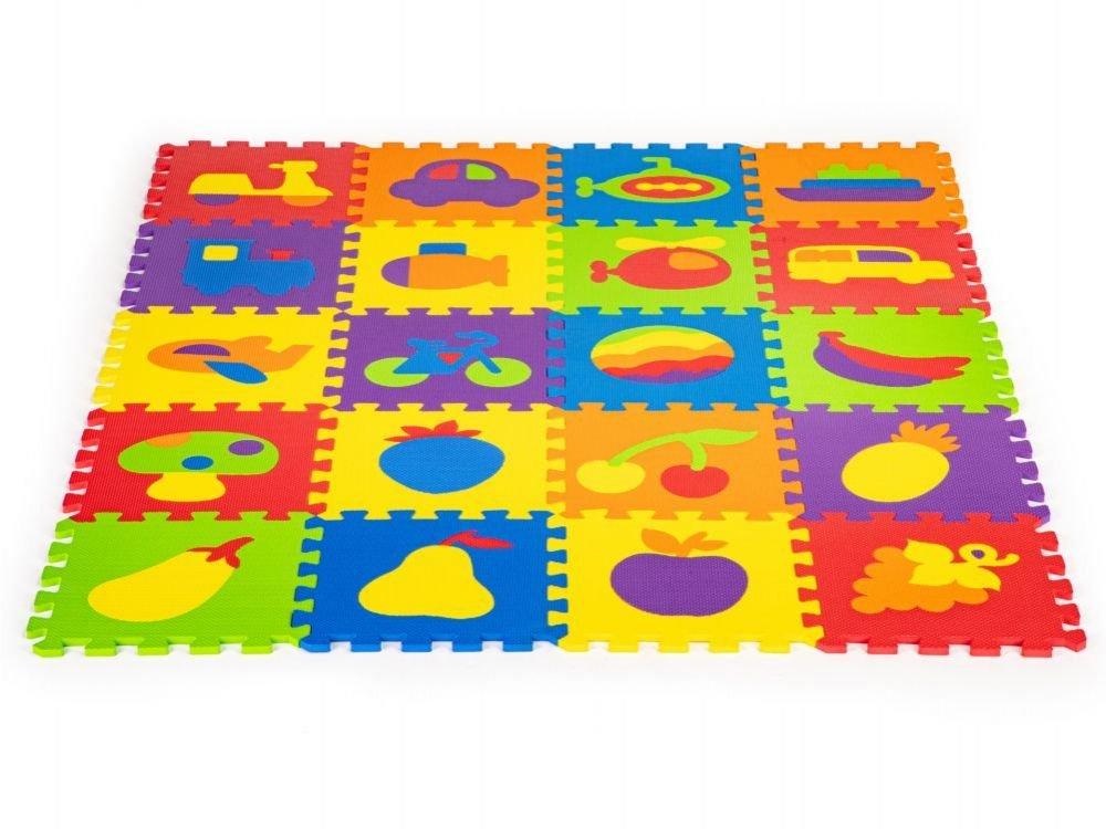 EcoToys Spēļu paklājs zīdaiņiem