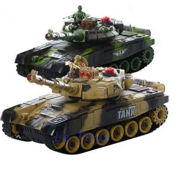 Set of two 1:16 T-90 RTR tanks