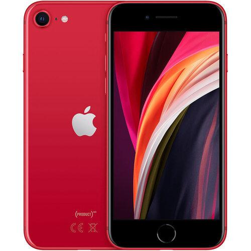 Apple iPhone SE (2020) 64GB Red MHGR3 EU 24m* MHGR3 Red Mobilais Telefons