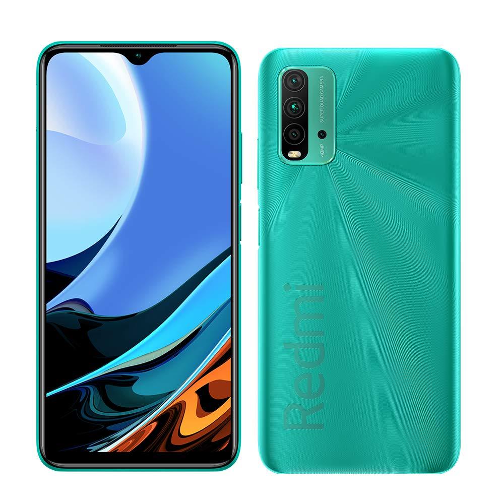 Xiaomi Redmi 9T Dual 4+64GB ocean green 6934177731464 T-MLX45246 Mobilais Telefons