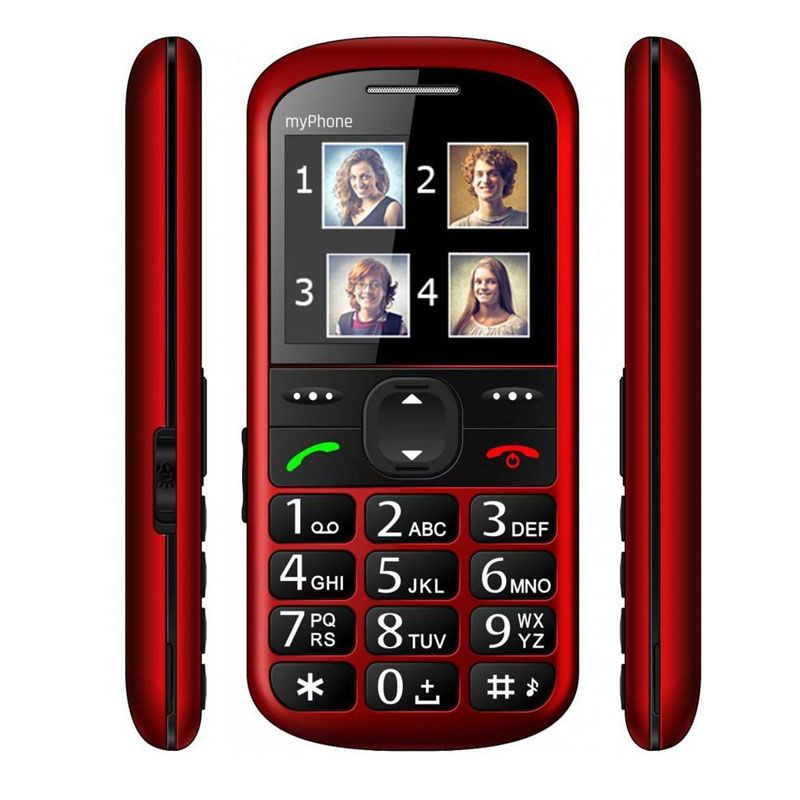 MyPhone  Halo 2 Red MPH2R Mobilais Telefons
