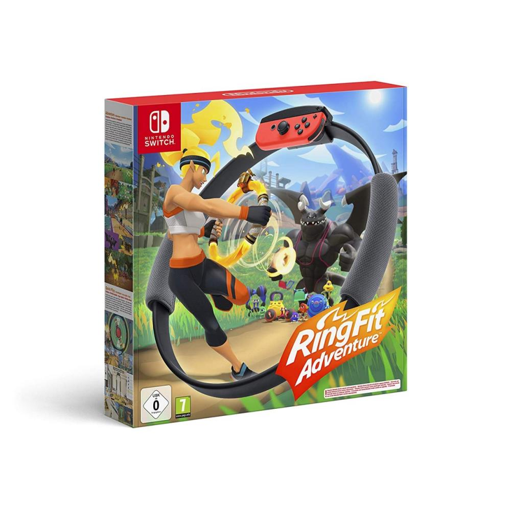 Nintendo Ring Fit Adventure spēļu konsole