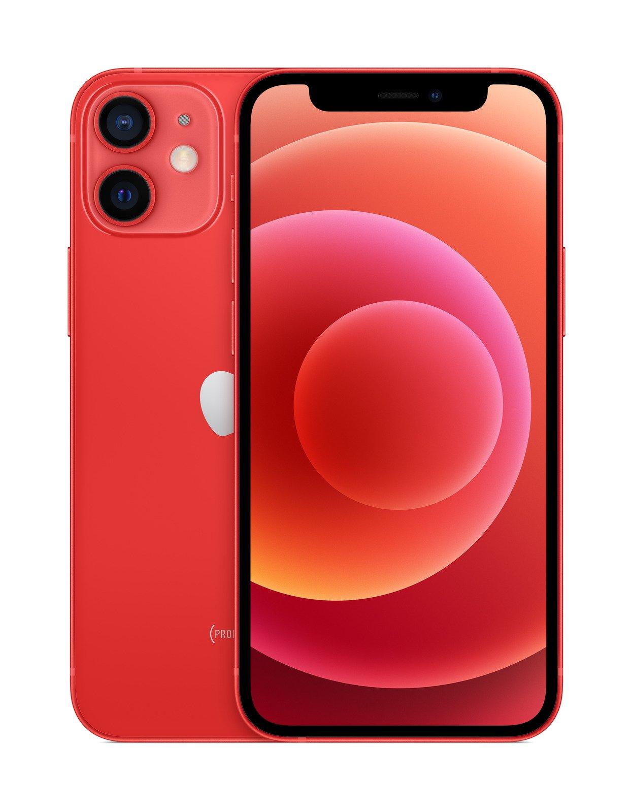 Apple iPhone 12 mini - 5.4 - iOS 64GB red Mobilais Telefons