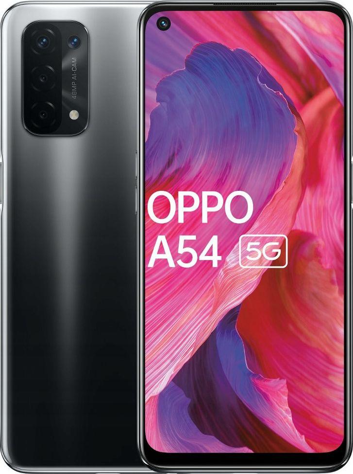 Smartfon Oppo A54 5G 4/64GB Dual SIM Czarny  (CPH2195CZ64) CPH2195CZ64 Mobilais Telefons