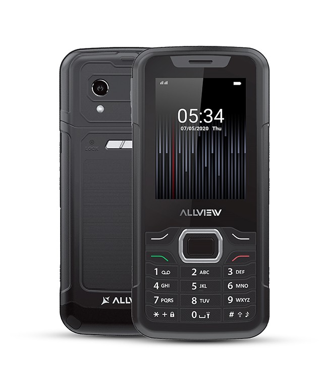 "Allview M10 Jump Black, 2.8 "", QVGA, 240 x 320 pixels, 64 MB, 128 MB, Dual SIM, 3G, Bluetooth, 2.0, USB version microUSB, Built-in camera, M Mobilais Telefons"