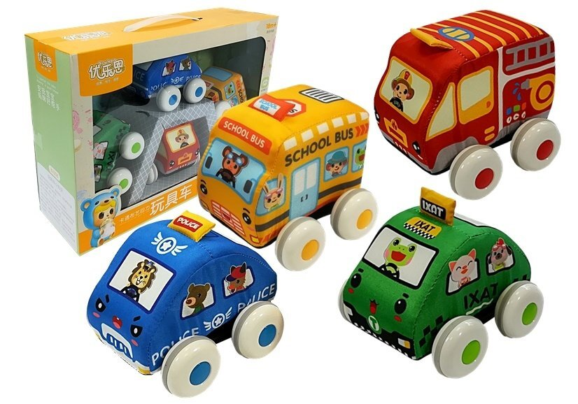 Mīkstie transportlīdzekļi Rotaļu auto un modeļi