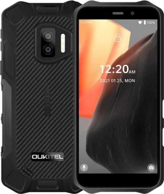 Smartfon Oukitel WP12 4/32GB Dual SIM Czarny  (WP12 Black) WP12 Black Mobilais Telefons