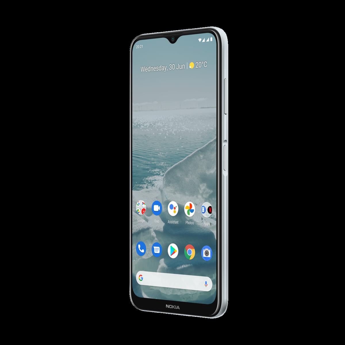 Nokia G20 64GB SILVER Mobilais Telefons