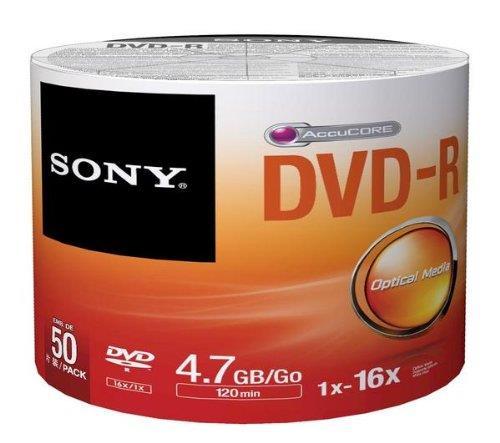 Sony DVD-R 4,7 GB | 16x [bulk 50 pcs] matricas