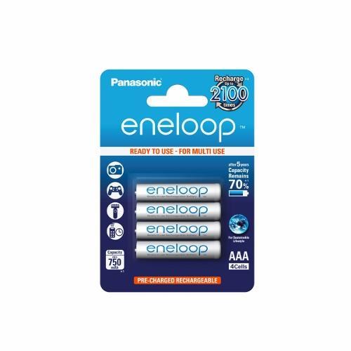 Panasonic Eneloop R03/AAA 750mAh, 4 Pcs, Blister Baterija