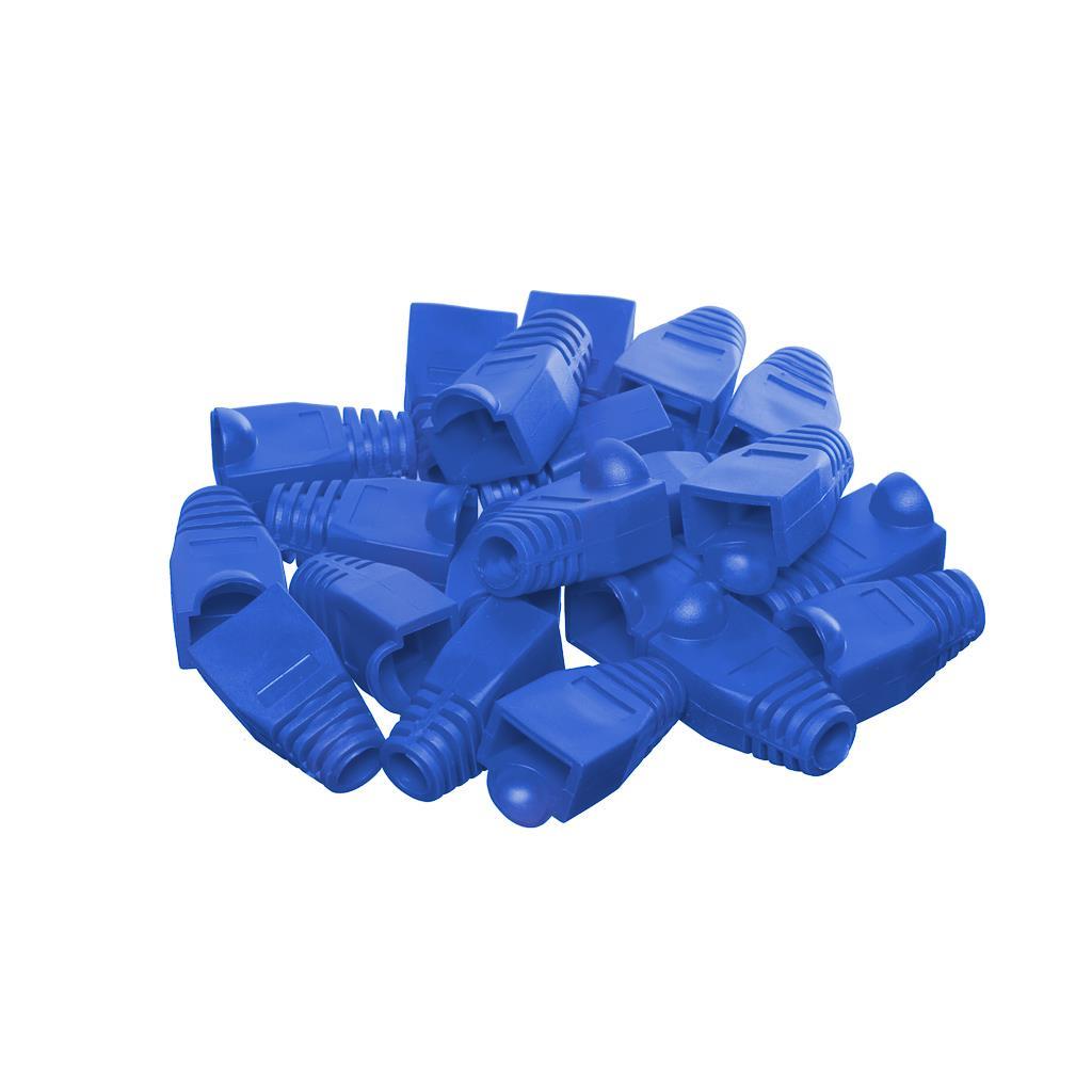 Netrack boot for RJ45 plug blue (100 pcs.)